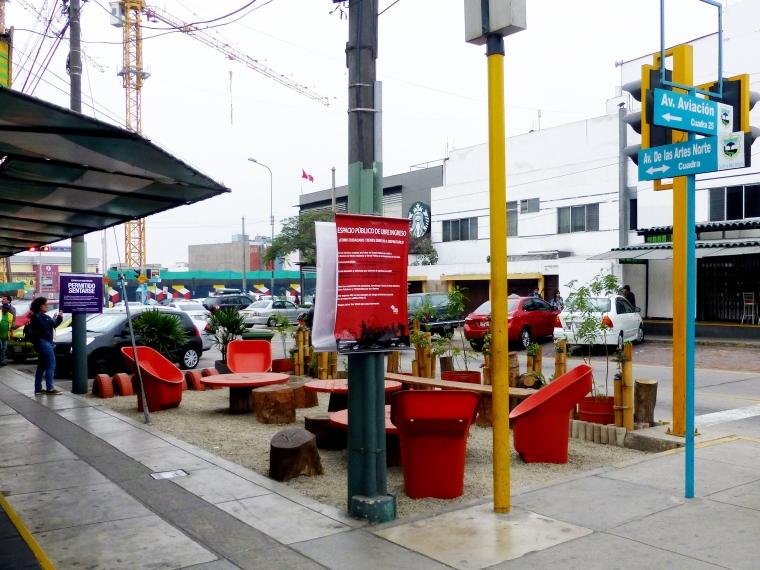 ParkletSanBorja